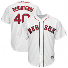 YOUTH Boston Red Sox #40 Andrew Benintendi Replica Home White Cool Base Jersey