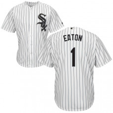 YOUTH Chicago White Sox Adam Eaton #1 White Authentic Cool base Jersey