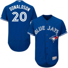 YOUTH Toronto Blue Jays #20 Josh Donaldson Alternate Royal Cool Base Jersey