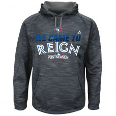 Blue Jays Graphite 2016 Postseason Came To Reign Hoodie