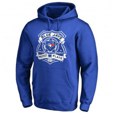 Blue Jays Police Badge Royal Pullover Hoodie