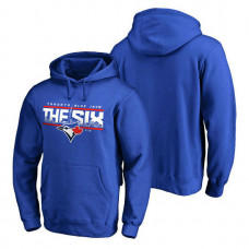 Toronto Blue Jays Hometown Collection The Six Pullover Royal Hoodie
