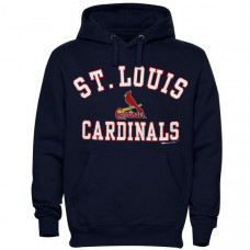 St. Louis Cardinals Stitches Fastball Fleece Pullover Hoodie