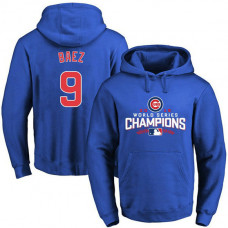 Cubs Javier Baez 2016 World Series Champions Walk Royal Pullover Hoodie