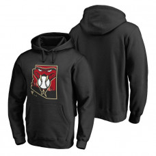 Arizona Diamondbacks Hometown Collection Baja Pullover Black Hoodie