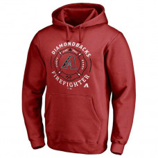 Diamondbacks Firefighter Red Pullover Hoodie