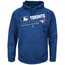 Jays Team Choice Streak Royal Authentic Collection Hoodie