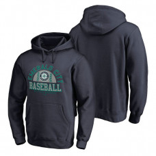 Seattle Mariners Hometown Collection Cascadia Pullover Navy Hoodie