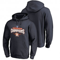 Houston Astros 2017 AL West Division Champions Assist Pullover Navy Hoodie