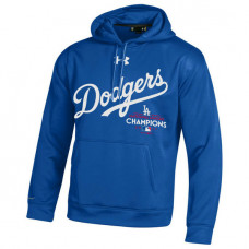 Los Angeles Dodgers 2017 National League Champions Pullover Royal Hoodie