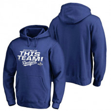 Los Angeles Dodgers 2017 NLCS Delayed Steal Pullover Royal Hoodie