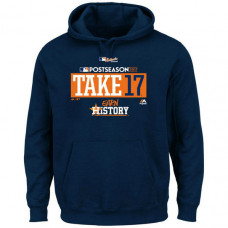 Houston Astros 2017 Postseason Participant Big & Tall Navy Hoodie