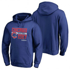Chicago Cubs 2017 Postseason Double Play Pullover Royal Hoodie