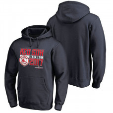 Boston Red Sox 2017 Postseason Double Play Pullover Navy Hoodie