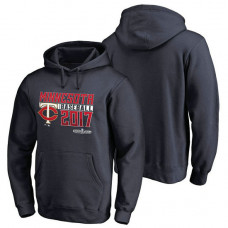 Minnesota Twins 2017 Postseason Double Play Pullover Navy Hoodie