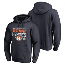Houston Astros 2017 World Series Champions Home Game Pullover Navy Hoodie