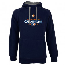 Houston Astros 2017 World Series Champions Victory Pullover Navy Hoodie