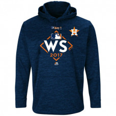 Houston Astros 2017 World Series Bound Streak Fleece Pullover Navy Hoodie