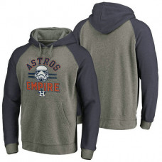 Houston Astros Heather Gray Star Wars Empire hoodie