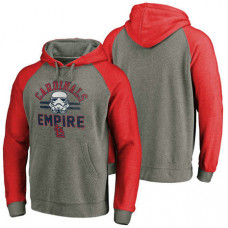 St. Louis Cardinals Heather Gray Star Wars Empire hoodie