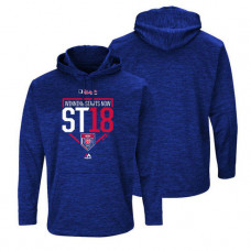 Chicago Cubs Royal 2018 Spring Training Ultra-Streak Fleece Hoodie