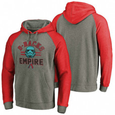 Arizona Diamondbacks Heather Gray Star Wars Empire hoodie