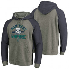 Seattle Mariners Heather Gray Star Wars Empire hoodie
