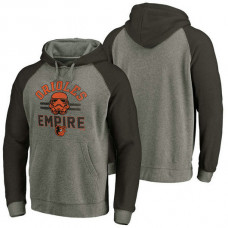 Baltimore Orioles Heather Gray Star Wars Empire hoodie
