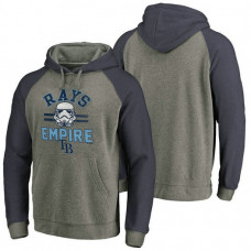 Tampa Bay Rays Heather Gray Star Wars Empire hoodie