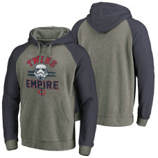 Minnesota Twins Heather Gray Star Wars Empire hoodie