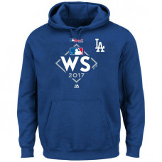 Los Angeles Dodgers 2017 World Series Bound Big & Tall Pullover Royal Hoodie