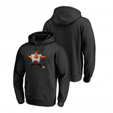Houston Astros Fanatics Branded Big & Tall Black Midnight Mascot Hoodie