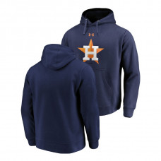 Houston Astros Commitment Performance Navy Team Mark Hoodie