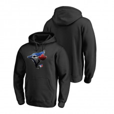 Toronto Blue Jays Fanatics Branded Big & Tall Black Midnight Mascot Hoodie