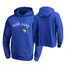 Toronto Blue Jays Big & Tall Royal Memorial Wordmark Hoodie