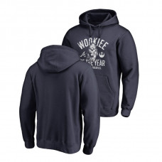 Atlanta Braves Fanatics Branded Navy Star Wars Wookiee Of The Year Hoodie