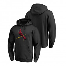 St. Louis Cardinals Fanatics Branded Big & Tall Black Midnight Mascot Hoodie