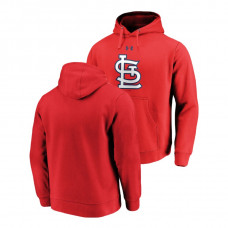 St. Louis Cardinals Commitment Performance Red Team Mark Hoodie