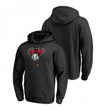 Arizona Diamondbacks Fanatics Branded Big & Tall Black Midnight Mascot Hoodie