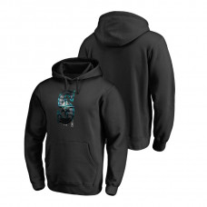 Seattle Mariners Fanatics Branded Big & Tall Black Midnight Mascot Hoodie
