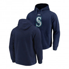Seattle Mariners Commitment Performance Navy Team Mark Hoodie