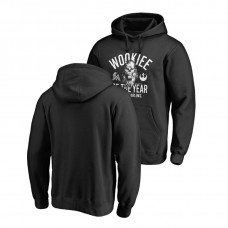Miami Marlins Fanatics Branded Black Star Wars Wookiee Of The Year Hoodie