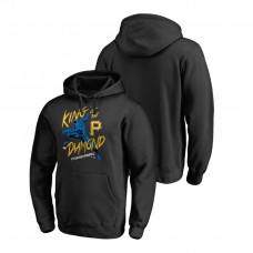 Pittsburgh Pirates Marvel Black Panther Black King of the Diamond Fanatics Branded Hoodie