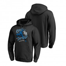 Tampa Bay Rays Marvel Black Panther Black King of the Diamond Fanatics Branded Hoodie