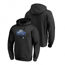 Tampa Bay Rays Fanatics Branded Big & Tall Black Midnight Mascot Hoodie