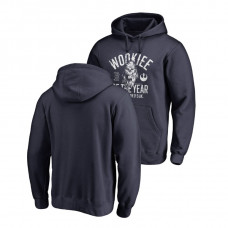 Boston Red Sox Fanatics Branded Navy Star Wars Wookiee Of The Year Hoodie