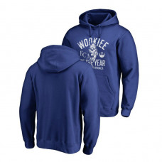 Kansas City Royals Fanatics Branded Royal Star Wars Wookiee Of The Year Hoodie