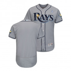 Tampa Bay Rays Gray Jersey 2018 Father's Day