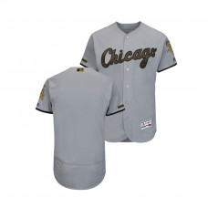 Chicago White Sox Gray Flex Base Jersey 2018 Memorial Day