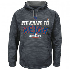 Mets Graphite 2016 Postseason Came To Reign Hoodie